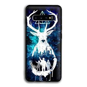 Ốp lưng Harry Potter cho điện thoại Samsung Galaxy S10 Plus - Viền TPU dẻo - 02054 7769 HP01 - Hàng Chính Hãng