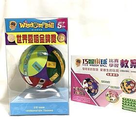 Đồ chơi Wisdom ball trí tuệ 123( Tặng giáo án học tập)