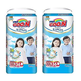 2 Gói Tã Quần Goo.n Premium Gói Cực Đại XXL36 (36 Miếng)