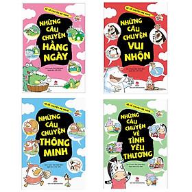 Combo 4 Cuốn Bé Kể Chuyện Mẹ Nghe( Tặng kèm Bookmark Happy Life)