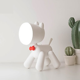 Đa dạng Phim hoạt hình Con chó Đèn LED Đèn đọc sách USB Có thể sạc lại đầu giường phòng ngủ cho trẻ em Quà tặng đèn ngủ