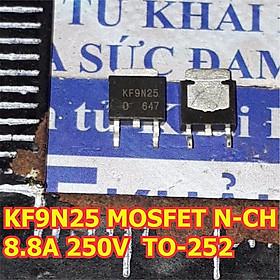3 con KF9N25 KCE MOSFET KÊNH N N-CH 8.8A 250V TO-252 chân dán kde6232