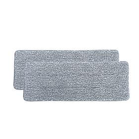 Combo 2 Miếng Lau Nhà Parroti Pro PR01 - Kích Thước 33 x12 CM - Chất Liệu Microfiber Cao Cấp