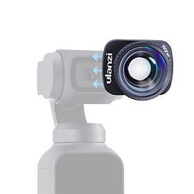 Ulanzi 4K Wide Angle Lens Camera Lens 100° HD Magnetic Mount Compatible with DJI OSMO Pocket Gimbal Accessories