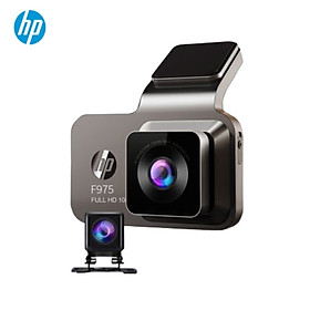Camera hành trình ô tô HP f975x tích hợp camera lùi, wifi, GPS - Hàng nhập khẩu