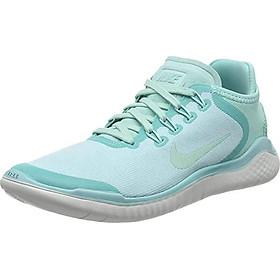 Nike Women's Free RN 2018 Running Shoes (Photo Blue/White, 6 M US)