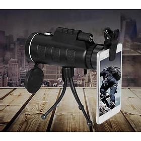 Ống nhòm kẹp điện thoại 40X60 ( Có chống thấm nước, độ nét cao ) - Hàng nhập khẩu