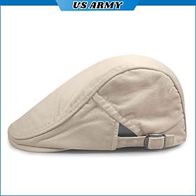 Mũ Lưỡi Trai Kaki Nam Nữ US ARMY U833, Kiểu Dáng Nón Beret 2 Lớp Thời Trang Cao Cấp- HÀNG CHÍNH HÃNG