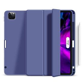 Bao Da Case Cover Dành Cho iPad Pro 11 inch (2020) / iPad Air 4 (10.9 inch) / iPad Pro 12.9 inch (2020) Có Khe Cắm Apple Pencil - Hàng Chính Hãng Meliya accessories