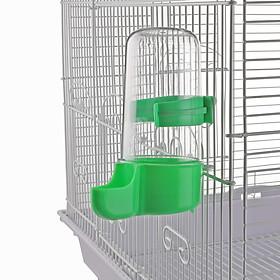 Bình nước gắn lồng cho gà đá chim cảnh hamster 150ml ( màu ngẫu nhiên )