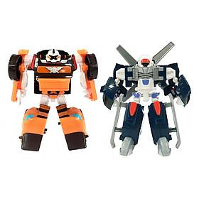 Combo Đồ Chơi Mini Tobot Ad X Và Tobot Ad Y Young Toys 301049