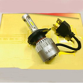 ĐÈN PHA LED KC15 X7s 3 TIM H4 LED TRẮNG ( giá 1 chiếc)