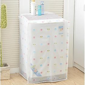 Áo Trùm Máy Giặt Nhựa Dẻo PVC Chống Thấm Dai Khó Rách - Hình ngẫu nhiên