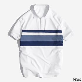 Áo Phông Nam Polo Tay Ngắn Phối Màu Thời Trang VICERO