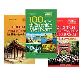 Combo Tủ sách lịch sử - Văn hóa Việt Nam (Bộ 3 cuốn)