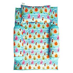 Bộ 4 Món Ga Gối Cho Bé Sleep Baby Water Drop Animals - F155