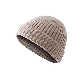 Mũ Len Beanie Retro Nam nữ Unisex Mũ Len đan Yuppie Dưa hấu Checkin Đà Lạt Mũ Len nồi Landlord Hàn Quốc