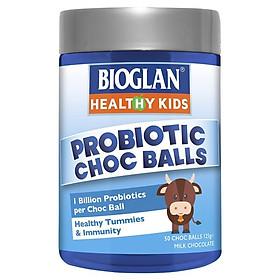 Bioglan Gummies Probiotic 50 Chocolate Balls