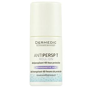 Lăn khử mùi và hỗ trợ khử mùi lên tới 48 giờ ANTIPERSP T Roll-On Dermedic