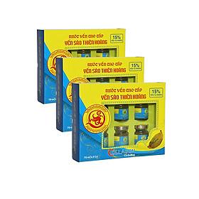 [ Combo 6 Hộp ] Yến Thiên Hoàng 15% Collagen ( 6 Lọ/ Hộp) + Tặng kèm 1 đôi dép