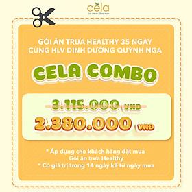 Combo 35 suất ưu đãi của chuỗi cửa hàng celadetox chuyên đồ ăn healthy được thiết kế bởi huấn luyện viên dinh dưỡng