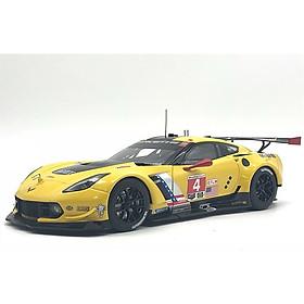 Xe Mô Hình Chevrolet Corvette C7.R Lime Rock 2016 Winner #4 1:18 Autoart - 81606 (Đỏ)