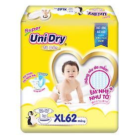 Combo 3 Tã Dán Cho Bé UniDry (G6+) size XL62 (62 Miếng)-1