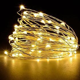 16FT 50LEDs String Lights USB Fairy Lamp Christmas Halloween Decorative Hanging Lights Garden Patio Landscape Light