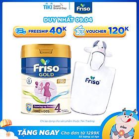 Sữa Bột Friso Gold Pro 4 Cho Trẻ Từ 2-4 Tuổi 800g + Tặng Áo Choàng Tắm Bò Cho Bé