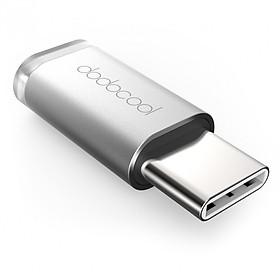 Đầu Chuyển Đổi USB-C Sang Micro USB Dodocool Mạ Crôm