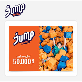 Jump Arena - Phiếu Qùa Tặng 50K