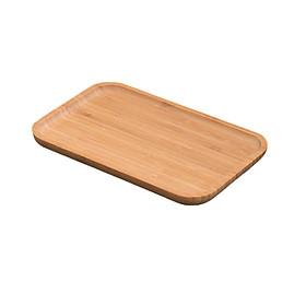 Khay Gỗ, đĩa gỗ chữ nhật rộng đa năng đựng thức ăn Decor Vintage