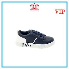 Giày Thể Thao Sneaker Bé Trai Bé Gái Đi Học Cổ Thấp Crown Space UK Active CRUK253 Cho Trẻ em Chất Liệu  Cao Cấp  Siêu Nhẹ Êm Size 28-36/4-14 Tuổi