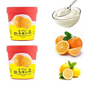 Combo 2 hũ Kem Dưỡng Thể Trắng Da Hasi Chiết xuất Sữa Chua & Cam Chanh - Whitening Yogurt Lotion With Lemon & Orange Extract