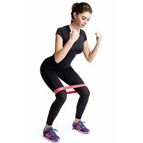 Dây  kháng lực tập mông mini band gym cải thiện vòng 3 hiệu quả AK25-0