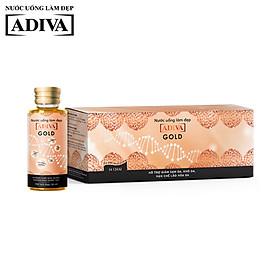 Nước uống làm đẹp Collagen ADIVA Gold (14 lọ x 30ml /hộp)