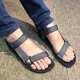 Giày sandals học sinh nam quai dù mềm êm chân siêu bền, không ngại mưa nắng, rửa nước thoải mái DA611-GXO