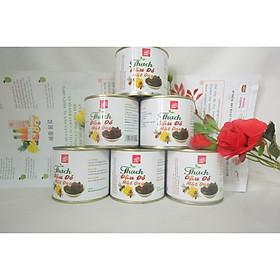 6 hộp thạch ăn liền đậu đỏ mật ong 340gr