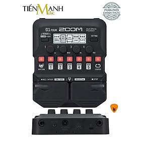 Zoom G1 Four - Phơ Đàn Guitar Bàn đạp Fuzz Pedals Effects Ghi-ta Điện Electric đã cài bộ tiếng backup hay và đầy đủ cho Cổ Nhạc Tân Nhạc G1Four - Kèm Móng Gẩy DreamMaker