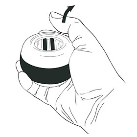 Wrist Ball Forceball Novelty LED PVC Pastime Relax Stress-4