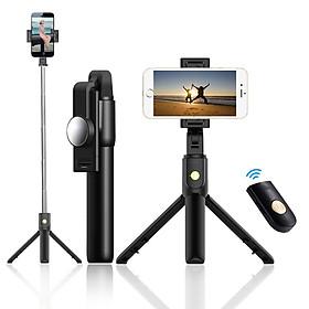 Gậy Chụp Ảnh Tự Sướng Selfie, Tripod K10 Kết Nối Bluetooth (Có Gương) Cao Cấp - DT072