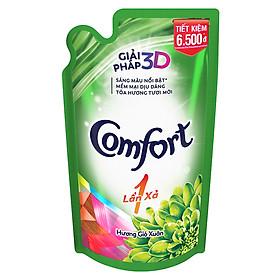 Nước Xả Vải Comfort Đậm Đặc 1 Lần Xả Hương Gió Xuân - 32010062 (800ml/Túi)