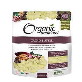 Bơ ca cao hữu cơ Organic Traditions 227g