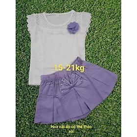 Sét bộ quần giả váy bé gái 3-15 tuổi(15-43kg)