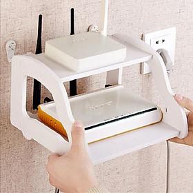 Kệ gắn tường đựng set top box TV, wifi, đầu thu