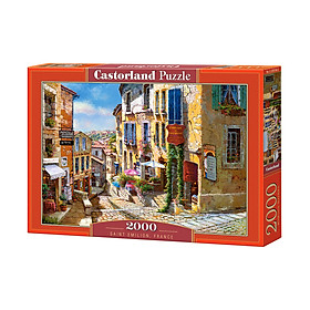 Đồ chơi ghép hình puzzle St Emilion France 2000 mảnh Castorland C200740