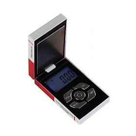 Cân điện tử mini giả bao thuốc lá 200g/0.01g (Tặng kèm miếng thép đa năng 11in1)
