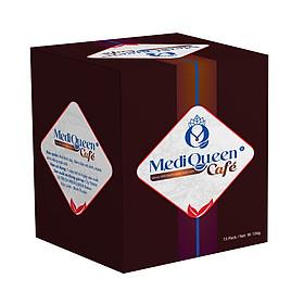 Cà phê giảm cân MediQueen - chính hãng - An toàn cho người dùng - không tác dụng phụ - hộp 15 gói