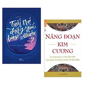 Combo 2 Cuốn Sách Kỹ Năng Hay: Tuổi Trẻ Đáng Giá Bao Nhiêu (Tái Bản) + Năng Đoạn Kim Cương (Tái Bản 2018) / Những Cuốn Sách Kỹ Năng Sống - Kỹ Năng Làm Việc Hay Nhất (Tặng Kèm Bookmark Happy Life)