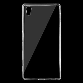 Ốp lưng silicon dẻo trong suốt loại A cao cấp cho Sony Xperia Z5